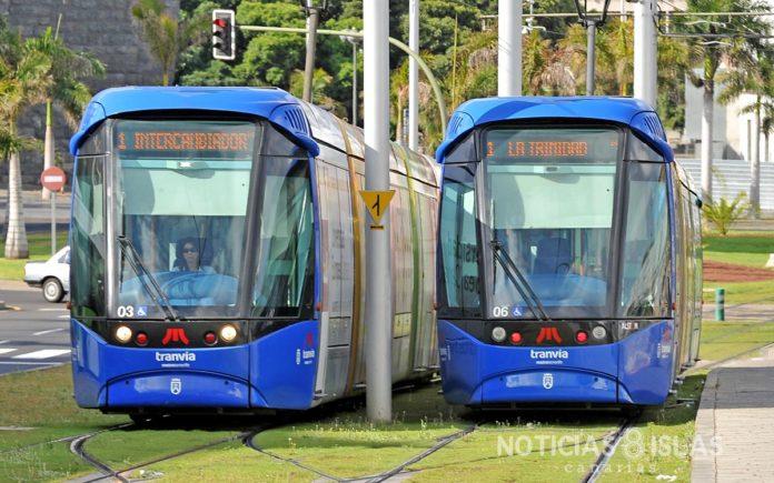 El tranvía de Tenerife cumple hoy 13 años