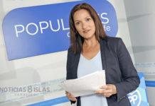 La portavoz popular en el Cabildo, Zaida González. Manuel Expósito. NOTICIAS 8 ISLAS.