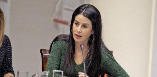 La diputada del Grupo Parlamentario Agrupación Socialista Gomera, Melodie Mendoza. Cedida. NOTICIAS 8 ISLAS.