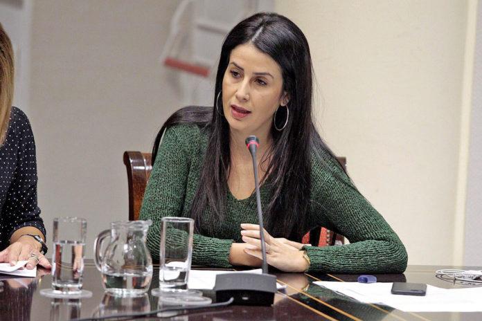 Melodie Mendoza, diputada del Grupo Parlamentario Agrupación Socialista Gomera. Cedida.. NOTICIAS 8 ISLAS.