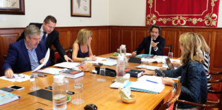 Reunión de la Mesa y Junta de Portavoces. Cedida. NOTICIAS 8 ISLAS.