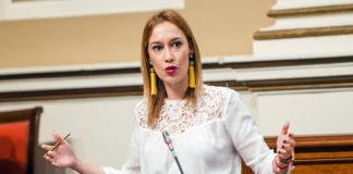 Nira Fierro, presidenta del Grupo Parlamentario Socialista. Cedida. NOTICIAS 8 ISLAS.