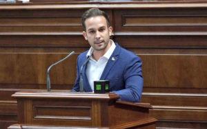 El diputado socialista Omar López./ Cedida.