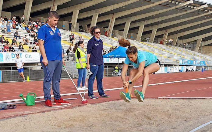 Primera prueba física celebrada en las instalaciones deportivas de Tíncer. Cedida. NOTICIAS 8 ISLAS.