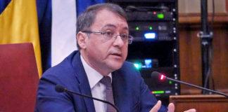 José Manuel Bermúdez, presidente del grupo CC-PNC, en su intervención ante el Pleno. Cedida. NOTICIAS 8 ISLAS.