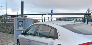 Punto de recarga para coches eléctricos. Cedida. NOTICIAS 8 ISLAS.