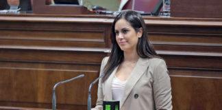 Vidina Espino, portavoz de Ciudadanos (Cs) en el Parlamento de Canarias. Cedida. NOTICIAS 8 ISLAS.