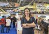 Yaiza Castilla, consejera de Turismo, Industria y Comercio, en la WTM. Cedida. NOTICIAS 8 ISLAS.