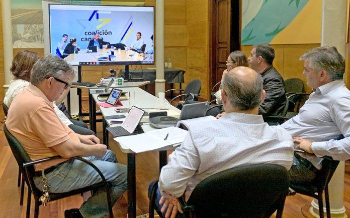 Comité Permanente Nacional de Coalición Canaria-Partido Nacionalista Canario. Cedida. NOTICIAS 8 ISLAS.