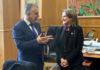 El presidente de Canarias, Ángel Víctor Torres, y la ministra de Transición Ecológica, Teresa Ribera. Cedida. NOTICIAS 8 ISLAS.