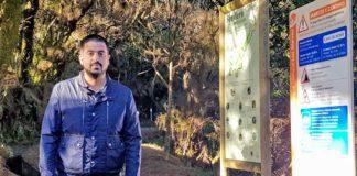 Borja Perdomo, consejero de Medio Ambiente. Cedida. NOTICIAS 8 ISLAS.
