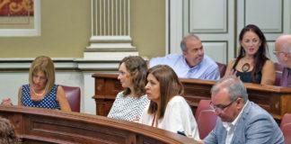 Los diputados de Nueva Canarias Campos y Hernández. Cedida. NOTICIAS 8 ISLAS.