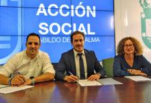 Firma convenio con Breña Alta. Cedida. NOTICIAS 8 ISLAS.