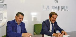 Firma convenio Turismo Santa Cruz de La Palma. Cedida. NOTICIAS 8 ISLAS.