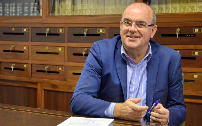 Anselmo Pestana, vicepresidente del Cabildo de La Palma. Cedida. NOTICIAS 8 ISLAS.