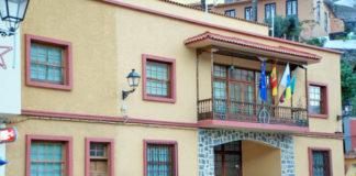 Fachada del Ayuntamiento de Vallehermoso. Cedida. NOTICIAS 8 ISLAS.