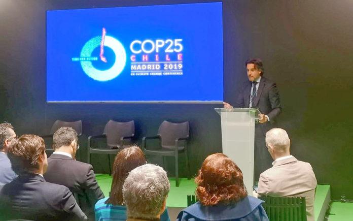 Gustavo Matos inaugura el encuentro 'Actores por el clima CANARIAS'. Cedida. NOTICIAS 8 ISLAS.