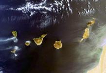 Canarias vista desde el espacio. NASA. NOTICIAS 8 ISLAS.