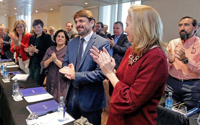 Jorge Marichal ha resultado elegido por aclamación presidente de la Confederación Española de Hoteles y Alojamientos Turísticos. Cedida. NOTICIAS 8 ISLAS.
