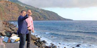 Visita a la costa de Maldonado. Cedida. NOTICIAS 8 ISLAS.