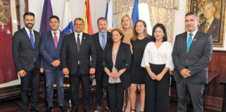 Grupo municipal de CC-PNC en el Ayuntamiento de La Laguna. Cedida. NOTICIAS 8 ISLAS.