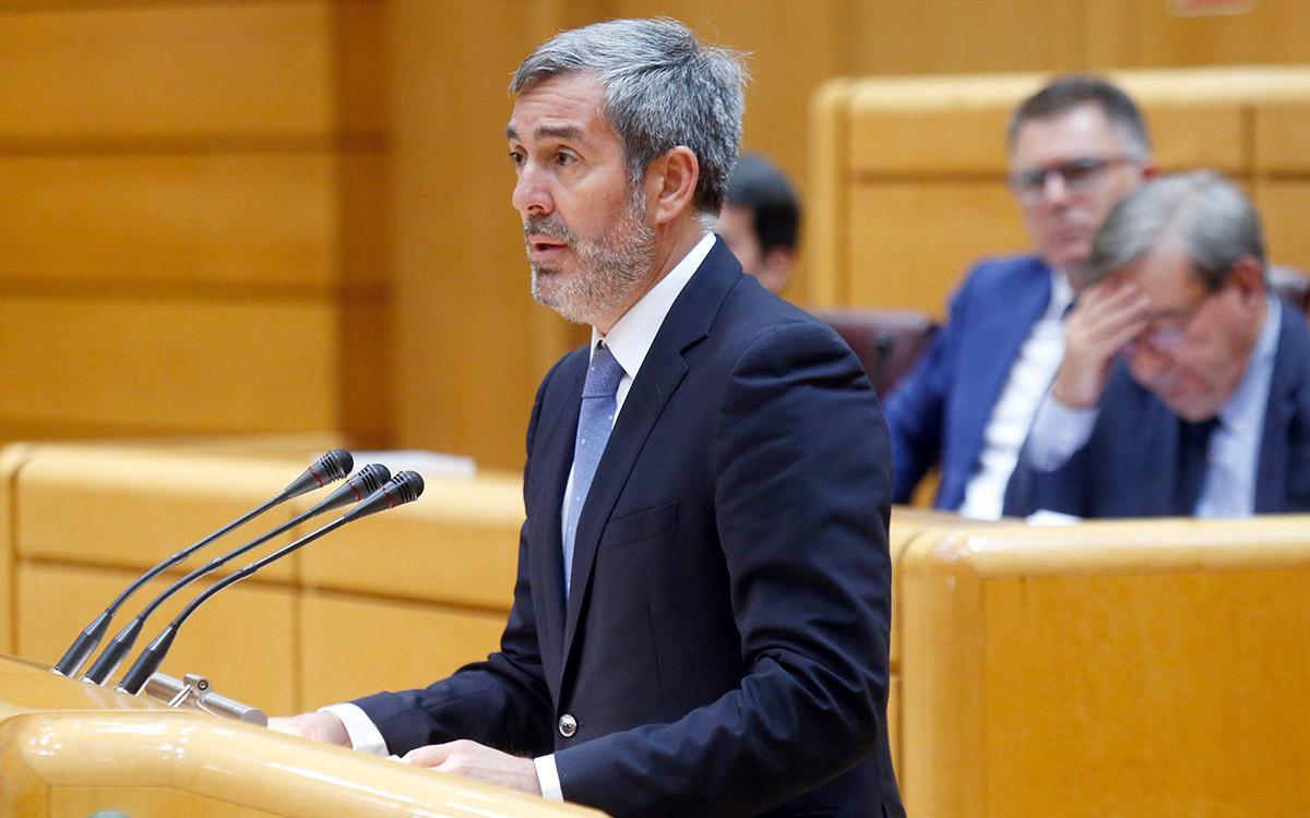 """Clavijo interpelará a Sánchez por la """"indiferencia"""" del Estado a la situación crítica de las Islas"""
