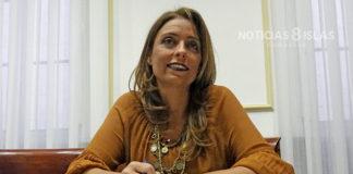 Gladis de León, concejala del grupo CC-PNC. Manuel Expósito. NOTICIAS 8 ISLAS.
