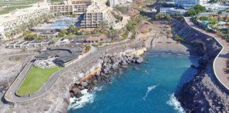Vista aérea de Playa Paraíso. Cedida. NOTICIAS 8 ISLAS.