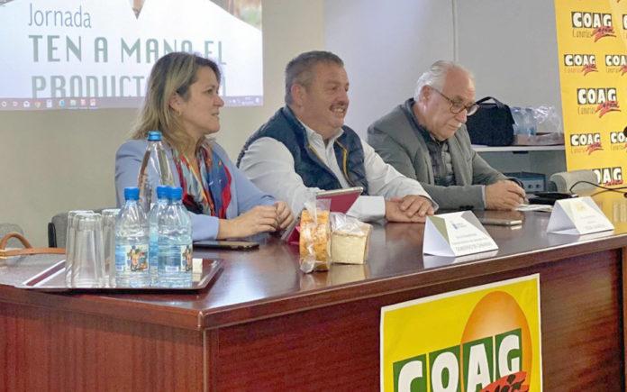 Alicia Vanoostende en las jornadas organizadas por COAG Canarias. Cedida. NOTICIAS 8 ISLAS.