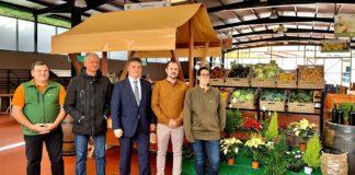 Visita al Mercadillo del Agricultor del Valle de La Orotava. Cedida. NOTICIAS 8 ISLAS.