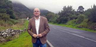 Anselmo Pestana, consejero insular de Infraestructuras y vicepresidente del Cabildo de La Palma. Cedida. NOTICIAS 8 ISLAS.