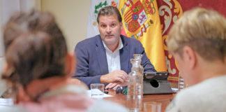 José Ángel Martín, concejal de Servicios Públicos. Cedida. NOTICIAS 8 ISLAS.