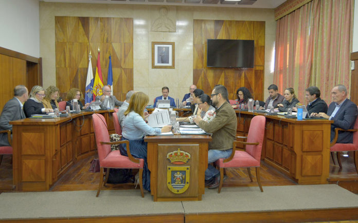 Pleno del Cabildo de La Palma, sesión plenaria. Cedida. NOTICIAS 8 ISLAS.