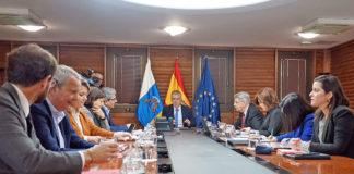 Consejo de Gobierno celebrado hoy en Las Palmas de Gran Canaria. Cedida. NOTICIAS 8 ISLAS.