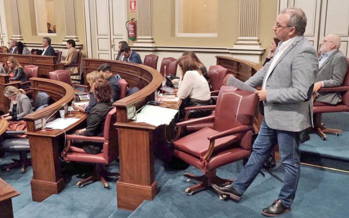 Luis Campos, portavoz parlamentario y Coordinador Territorial de Nueva Canarias. Cedida. NOTICIAS 8 ISLAS.