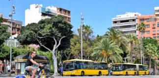 Guaguas Municipales de Las Palmas de Gran Canaria. Cedida. NOTICIAS 8 ISLAS.