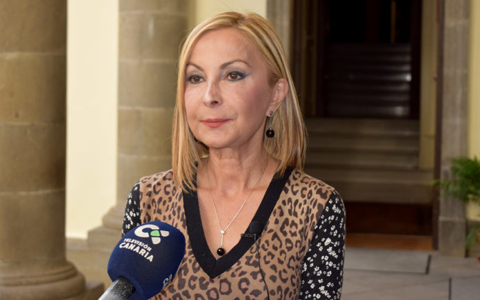 Australia Navarro, portavoz del Grupo Popular. Cedida. NOTICIAS 8 ISLAS.