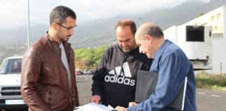 Bernado López en el Polígono Industrial de Mirca. Cedida. NOTICIAS 8 ISLAS.