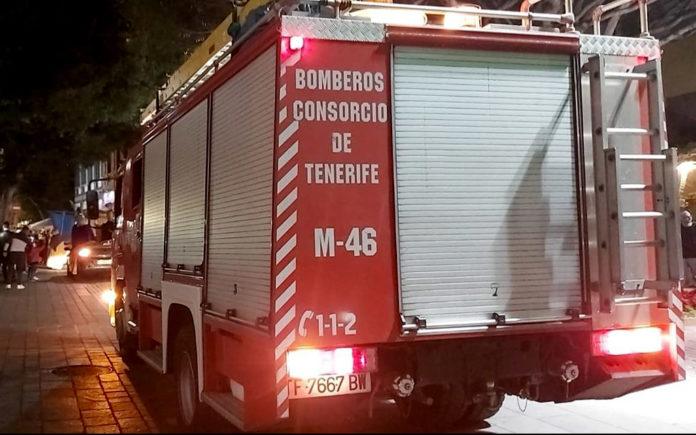 Unidad M-46 de Bomberos Tenerife. Cedida. NOTICIAS 8 ISLAS.