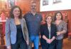 Miembros del Grupo Municipal Socialista en San Sebastián de la Gomera. Cedida. NOTICIAS 8 ISLAS.