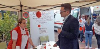 Nauzet Gugliotta en la Jornada Voluntariado y Solidaridad. Cedida. NOTICIAS 8 ISLAS.