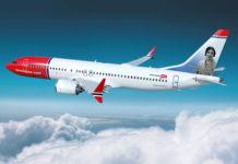 Boeing 737 MAX de Norwegian./ FB.