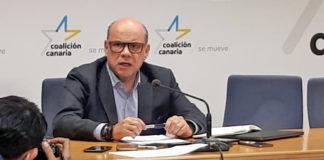 José Miguel Barragán, secretario general de CC-PNC./ NOTICIAS 8 ISLAS.