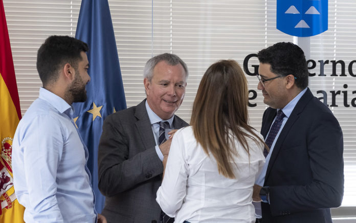 Reunión Puertos Canarios./ EFE, Ángel Medina G.
