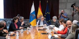Reunión del Consejo de Gobierno. Cedida. NOTICIAS 8 ISLAS.