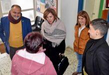 Teresa Cruz Oval visita el consultorio de La Esperanza. Cedida. NOTICIAS 8 ISLAS.