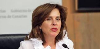 Teresa Cruz, consejera de Sanidad. Cedida. NOTICIAS 8 ISLAS.