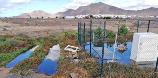 Vertidos en la urbanización El Partidor de Playa Blanca. Cedida. NOTICIAS 8 ISLAS.