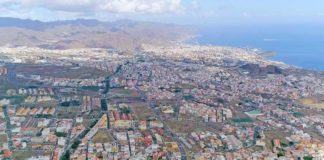 Vista Aerea de Santa Cruz Tenerife. Cedida. NOTICIAS 8 ISLAS.