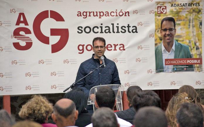 Adasat Reyes, nuevo presidente de ASG. Cedida. NOTICIAS 8 ISLAS.